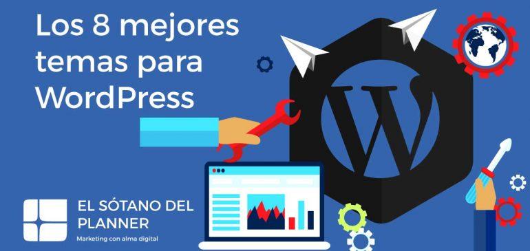Los 8 Mejores Temas para WordPress