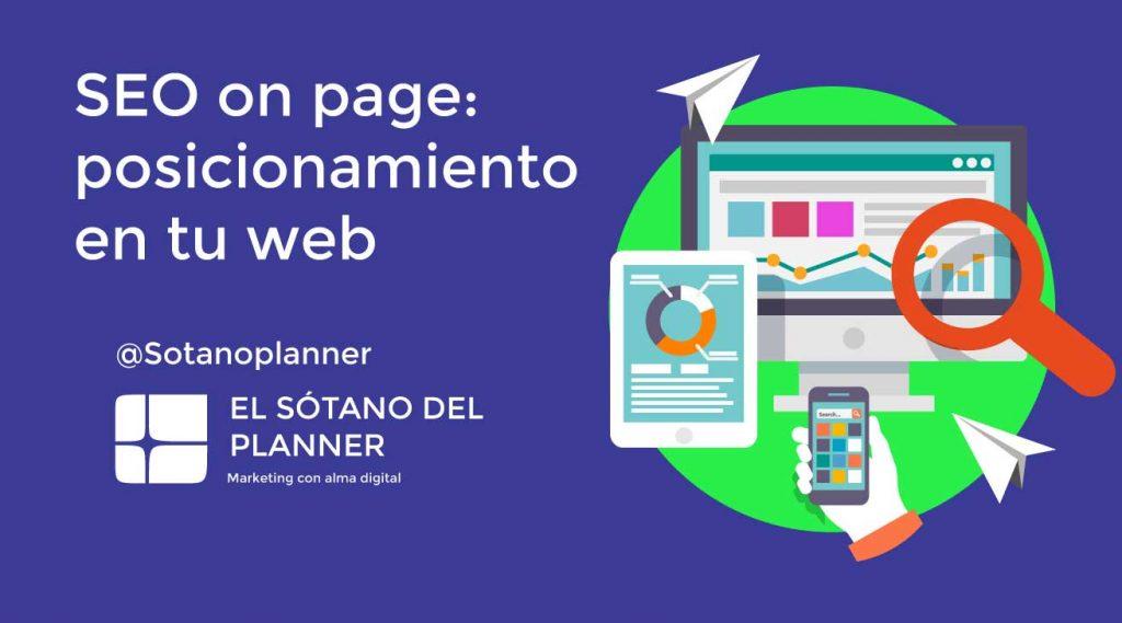 SEO on Page: posicionamiento en tu web